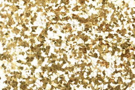 Shiny gold background, your holographic glitter texture for awesome design view. High quality texture in extremely high resolution, 50 megapixels photo. 写真素材