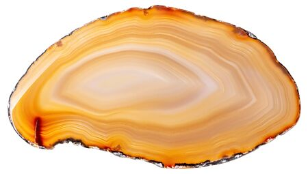 Great agate in expensive orange color for design work. Stock fotó