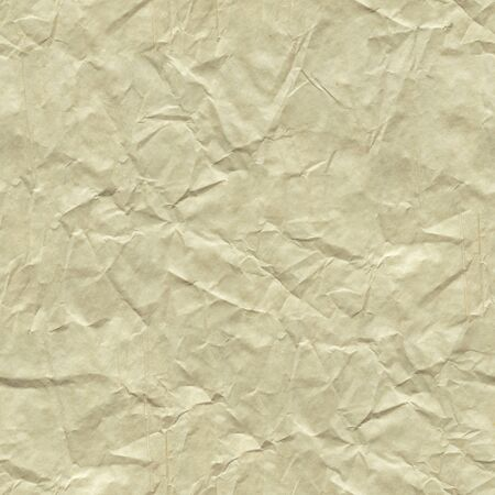 Crumpled paper background in light color for gentle greeting card. Seamless texture. Stock fotó