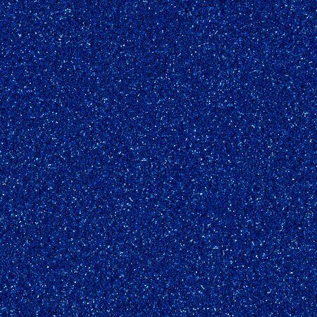 Dark blue shiny glitter, sparkle confetti texture. Christmas, xmas abstract background, seamless pattern.