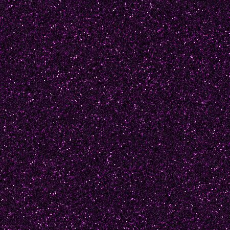 Dark purple, fuchsia, magenta glitter, sparkle confetti texture. Christmas abstract background, seamless pattern.