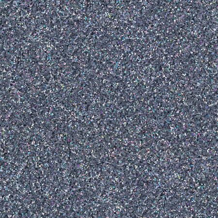 Holographic gray glitter, sparkle confetti texture. Christmas abstract background, seamless pattern.