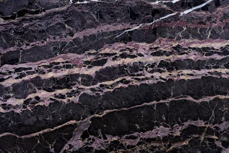 New black marble background as part of your attractive interior. High quality texture.
