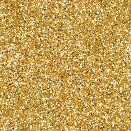 Golden glitter, sparkle confetti texture. Christmas abstract background. Ideal seamless pattern. Stock fotó