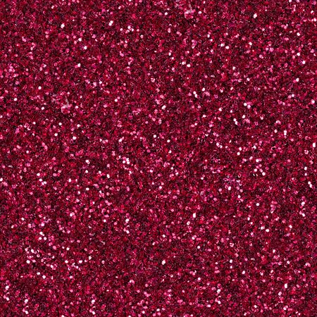 Elegant red glitter, sparkle confetti texture. Christmas abstract background, seamless pattern.