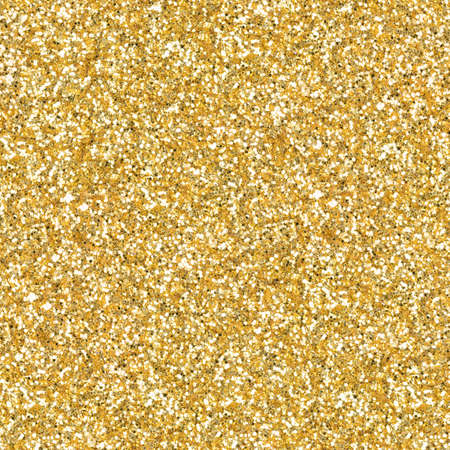 Golden glitter, sparkle confetti texture. Christmas abstract background. Ideal seamless pattern.