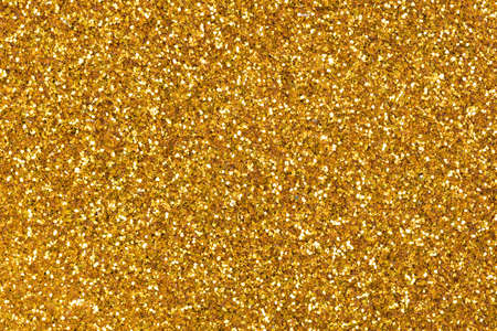 New gold glitter background, adorable shiny texture in stylish tone.