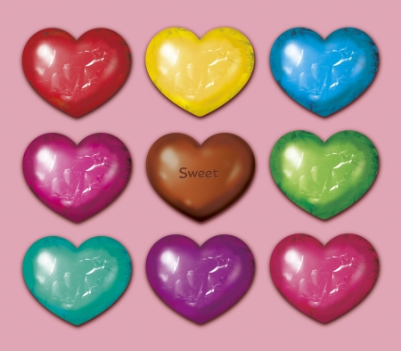 Nine chocolate