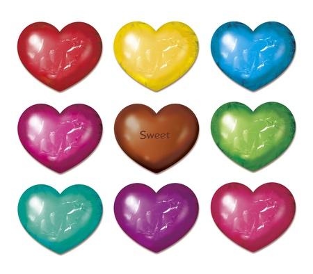 Dziewięć czekolada