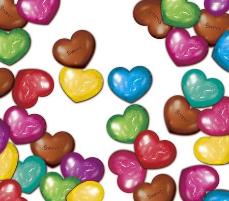 Rozproszone czekolada