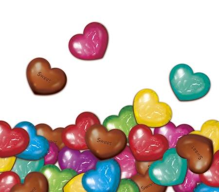 Chocolat empil�s