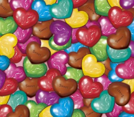 PeÅ'na czekolady Zdjęcie Seryjne