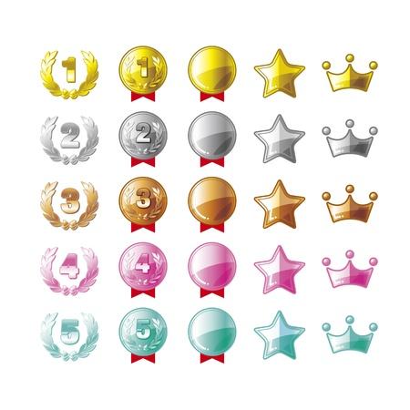 様々 なメダル