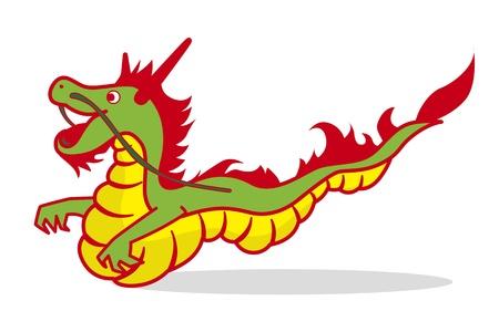 Illustration du Dragon Illustration