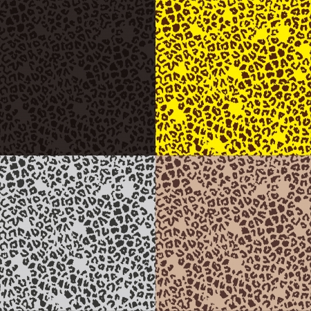 Pattern of leopard Vectores