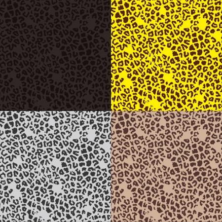 Pattern of leopard 向量圖像