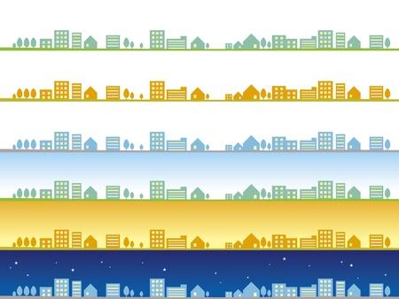 tag und nacht: 24 Stunden am Tag in der Stadt