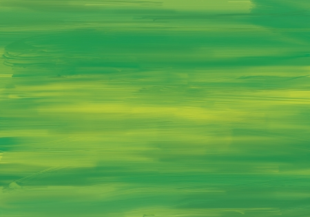 Painted in green background Stock Photo