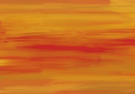 Background painted orange