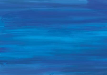 Painted in blue background