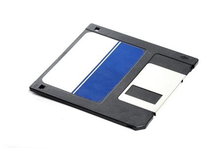 floppy disc on white