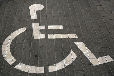 disabled people sign photo