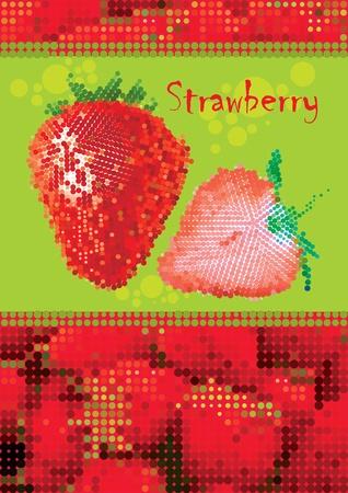 summer fruit vector eps