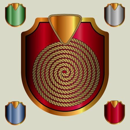 Shield vector eps Illustration
