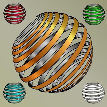Sphere  vector eps Illustration