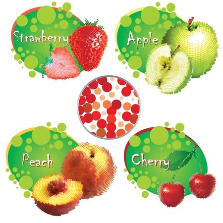 summer fruit  vector eps Stock Vector - 10119429