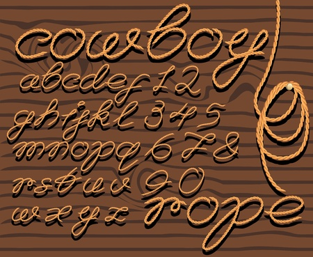 periodical: font rope