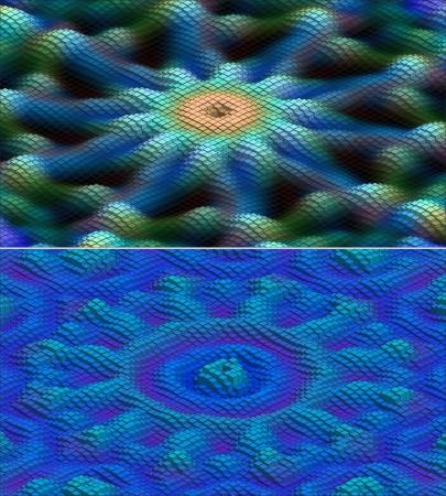 abstract 3d deep sea - editable vector set Stock Vector - 15899529