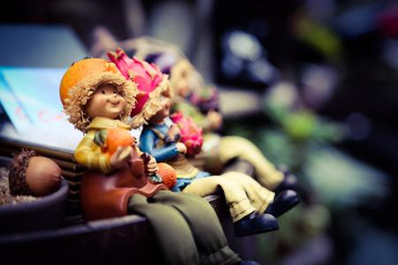 enano: figurita enana