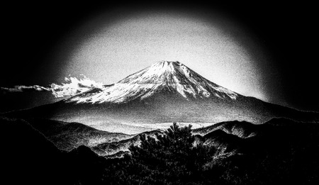 Fuji mountain 版權商用圖片