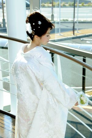 Wedding dress woman 스톡 콘텐츠