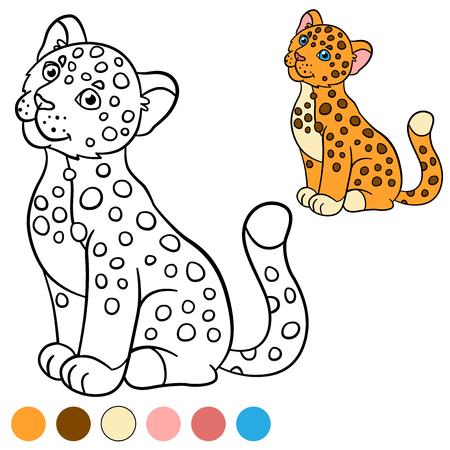 Dibujo Para Colorear O Tarjeta Para Los Niños Con Alfabeto Inglés ...