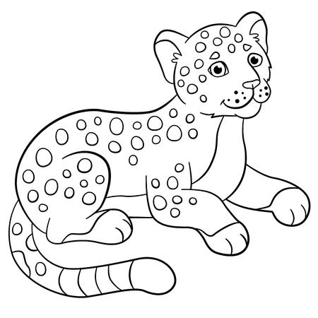 Baby Jaguar Coloring Pages Coloring Pages