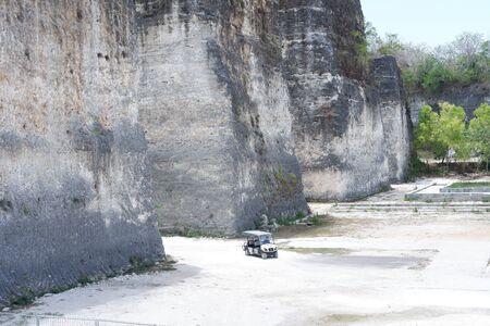 Rock scenery Background