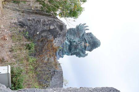 Rock scenery background 免版税图像
