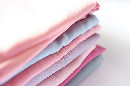 fabric with a beautiful color as a background