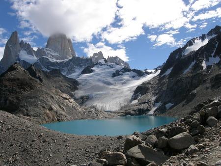 chalten: Laguna de los Tres, Chalten, Argentina