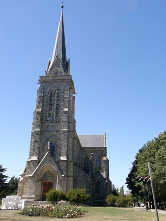 The Cathedral of Our Lady of Nahuel Huapi, Bariloche, Rio Negro, Argentina.