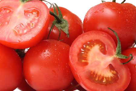fresh tomatoes Stock Photo - 4313402