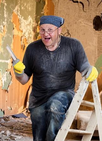 House Painter - my Job Stock Photo - 7639478