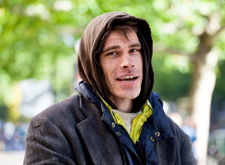 Homelessness 版權商用圖片