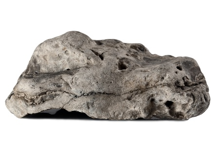 rock: big rock isolated on a white background