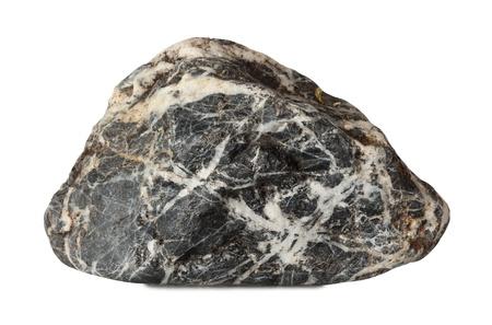 grote rots geïsoleerd op een witte achtergrond