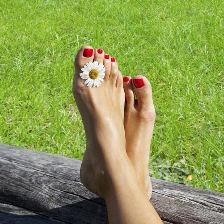 Disfrutar del tiempo de Relax puro por un d�a de verano hermoso.