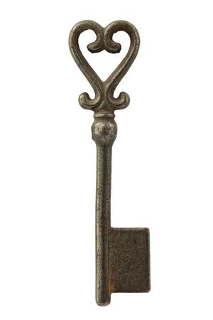 Isolierte verbotene Schlüssel auf weiß isoliert Lizenzfreie Bilder