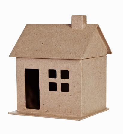 Model house Isolated On White Stock Photo - 10649490